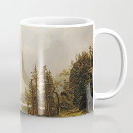 Merced River Yosemite Valley 1866 By Albert Bierstadt   Reproduction Painting Coffee Mug