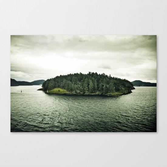 L'île Mysterieuse Canvas Print