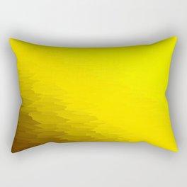 Yellow Texture Ombre Rectangular Pillow
