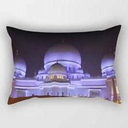 Sheikh Zayed Grand Mosque Rectangular Pillow