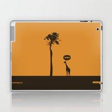 WTF? Jirafa! Laptop & iPad Skin