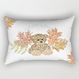 Autumn Bear Rectangular Pillow