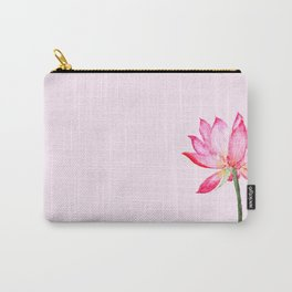 pink lotus flower Carry-All Pouch
