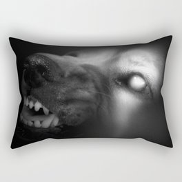 snarl Rectangular Pillow