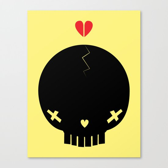 HEART BREAKER - ed. fact Canvas Print