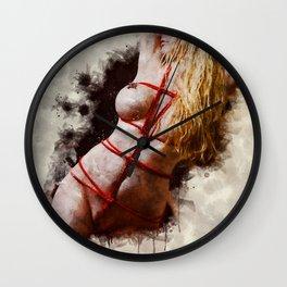 Shibari Body Wall Clock