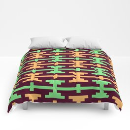 Native Aztec Dumbell Pattern Comforters