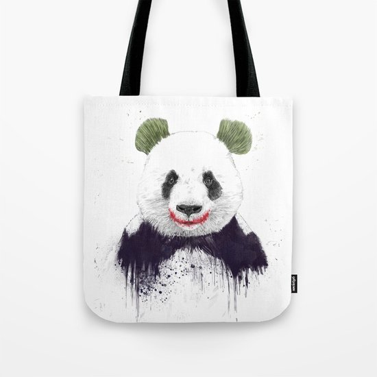Jokerface Tote Bag