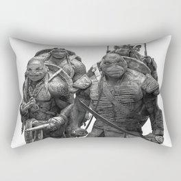 Green Teenage Heroes Rectangular Pillow