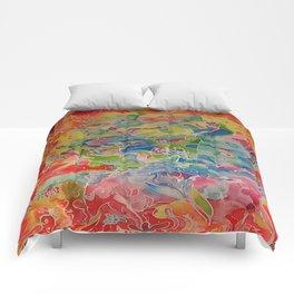 Silk Painting Comforters