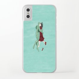 The Shape of Water - Watercolor Clear iPhone Case