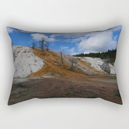 Mammoth Hot Spring Colors Rectangular Pillow