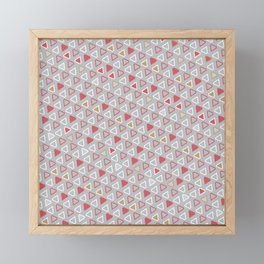 Diamond Pattern 10 Framed Mini Art Print