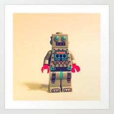 Robot 2000 Art Print
