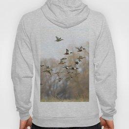 Ducks in Autumn Flight Hoody