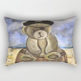 Pirate Ahoy Teddy Rectangular Pillow