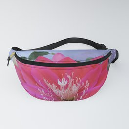 Roses Are White, Cactus is Rose... Fanny Pack