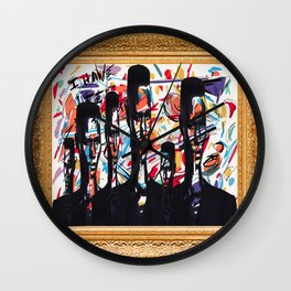 Graced Wall Clock