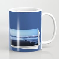 norway Mugs featuring Tromso - Norway by Louise