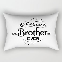 Awesome Brother Ever Rectangular Pillow
