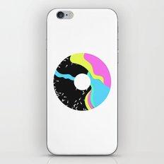 Iridescent donut iPhone & iPod Skin