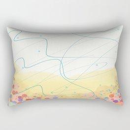 Waggle Dance Rectangular Pillow