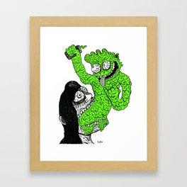 Vom-Goblin Framed Art Print