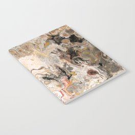 Earth Strata Marble Notebook