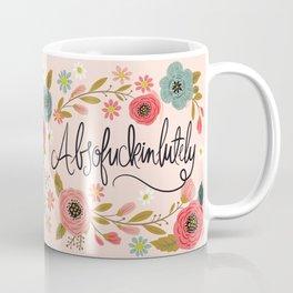 Pretty Swe*ry: Absofuckinlutely Coffee Mug