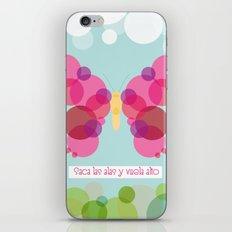 Vuela alto! iPhone & iPod Skin