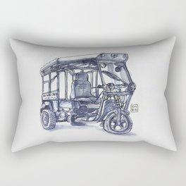 vietnam 3 wheelers Rectangular Pillow