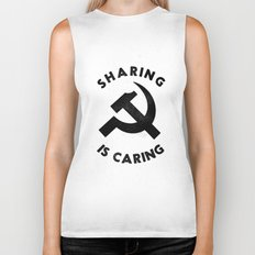 Sharing Is Caring Biker Tank