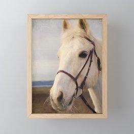 Beauty Is A Light - Horse Art Framed Mini Art Print
