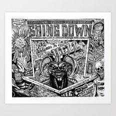 Hell Art Print