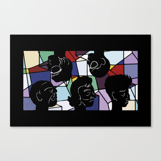 """""""In Our Heads"""" by Virginia McCarthy Canvas Print"""
