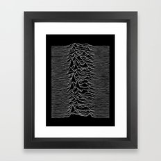 Joy Division 2 Framed Art Print