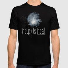 Help Us Heal - Hurricane Sandy Relief Mens Fitted Tee MEDIUM Black