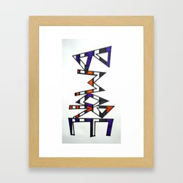 Bmore Framed Art Print
