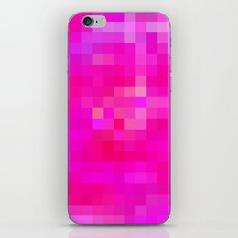 Re-Created Colored Squares No. 6 by Robert S. Lee iPhone Skin
