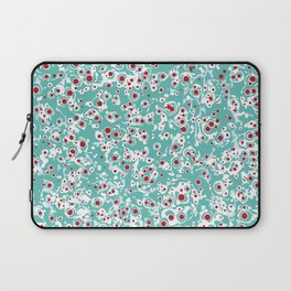 red wild dots Laptop Sleeve