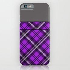 Scottish Plaid (Tartan) - Purple Slim Case iPhone 6s