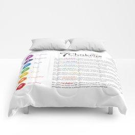 Seven Chakra Poster #43 Comforters