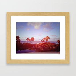 Kauai Morning Framed Art Print