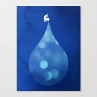 Drop in the Bucket Canvas Print
