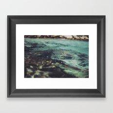 Water, Australia Framed Art Print