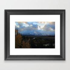 Stormy Days Framed Art Print
