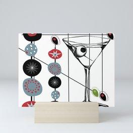 Mid-Century Modern Art Atomic Cocktail 3.0 Mini Art Print