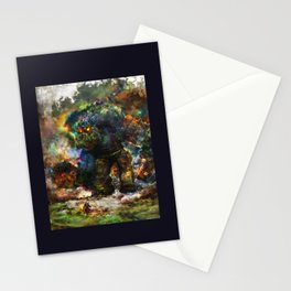 shadow of the witcher Stationery Cards