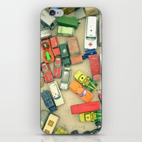 Traffic Jam iPhone & iPod Skin