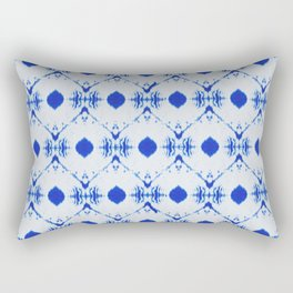 big diamond tie-dye Rectangular Pillow